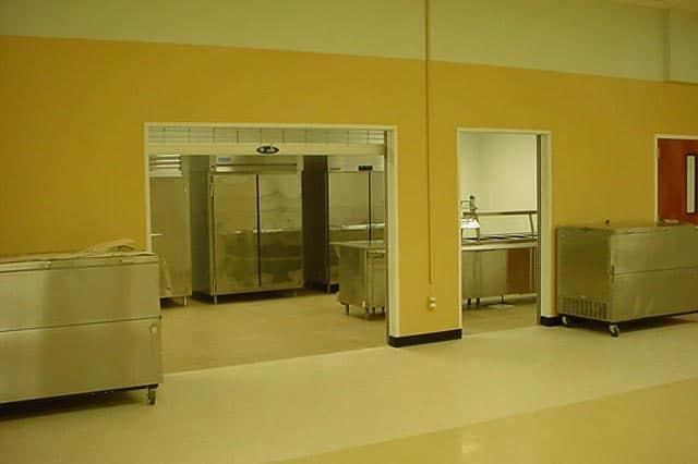 Beeville ISD kitchen