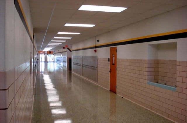 Snider ISD main hall