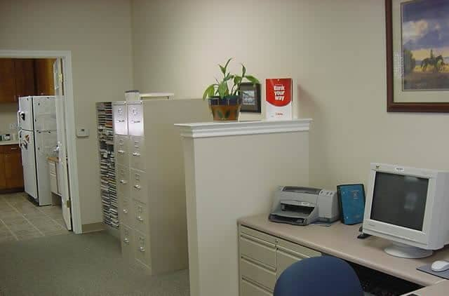 State Farm Insurance Agency interior space