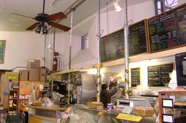 Wheatsville Co-op front counter