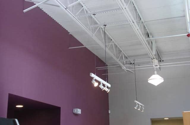 Wheatsville Co-op ceiling lights
