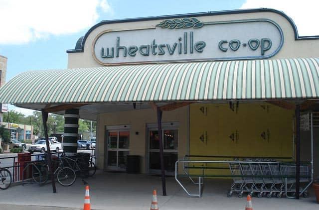 Wheatsville Co-op main sign